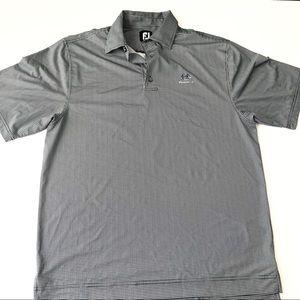 FOOTJOY Houndstooth Short Sleeve Golf Polo mm6